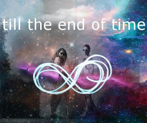 infinity, time, and love image