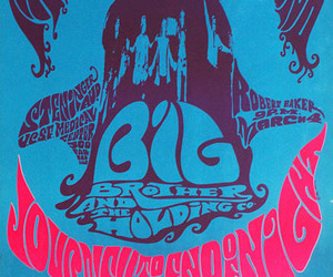 old band poster and san francisco concert image