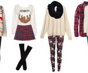 christmas, fashion, and sweaters image