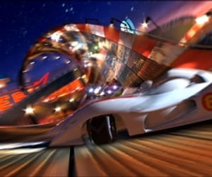 go speed racer go and light image