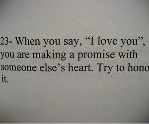 love, promise, and quotes image