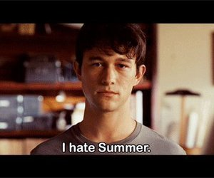 500 Days of Summer, summer, and hate image