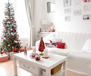 christmas, white, and home image