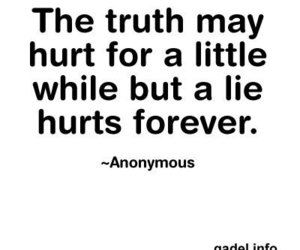 hurt, lies, and truth image