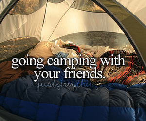camping, friends, and fun image