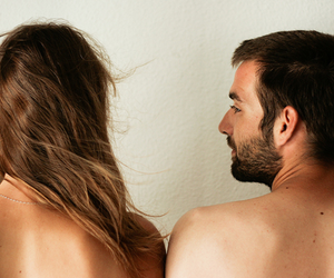 couple, hair, and neck image