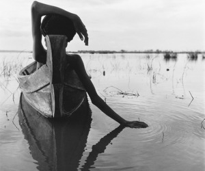 boat, black and white, and photography image