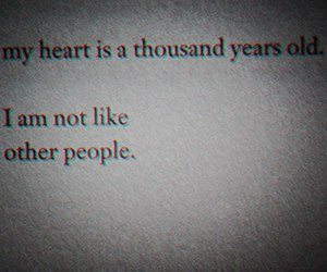 heart, quotes, and people image