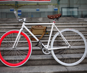 bike, fixed, and fixie image