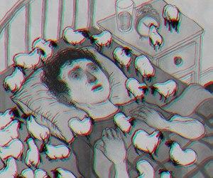 sleep, insomnia, and sheep image