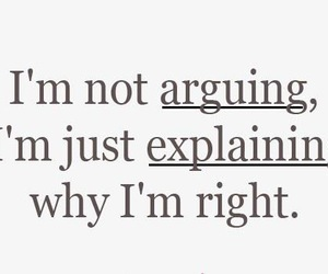 quote, arguing, and Right image