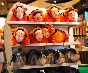 disney, eeyore, and tigger image