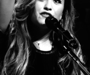 beautiful, hair, and demi lovato image