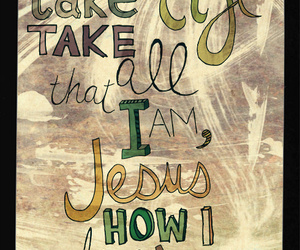 hillsong united, jesus, and like an avalanche image