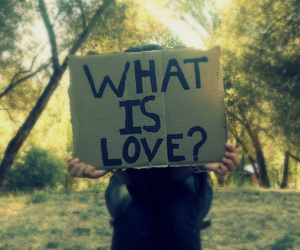 love, what is love, and text image