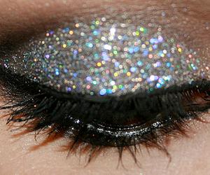 glitter, eye, and make up image