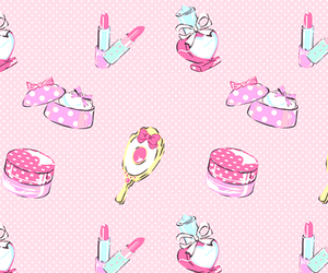 pink, background, and girly image