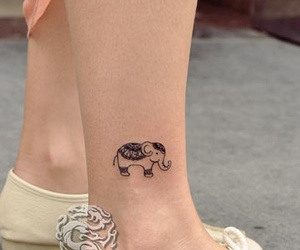 tattoo, girly tattoo, and cute tattoo image