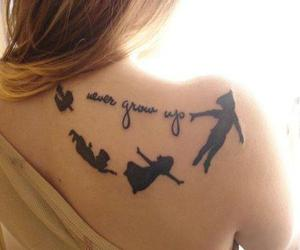 tattoo, peter pan, and disney image