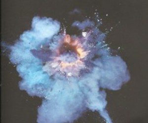 grunge, explosion, and fireworks image