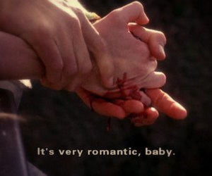 blood, quotes, and romantic image