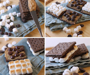 chocolate and marshmallow image
