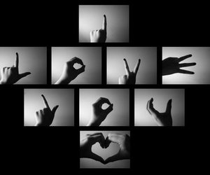 love, I Love You, and hands image