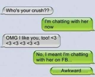 WHo is your crush funny iPhone messages, I\'m chatting with ...
