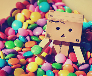 candy, danbo, and smarties image