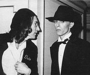 david bowie, john lennon, and bowie image