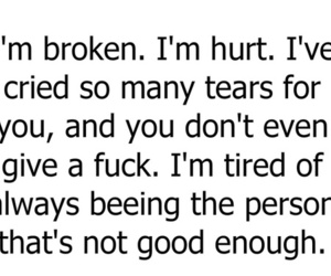 broken, hurt, and tired image