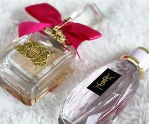 pink, perfume, and YSL image