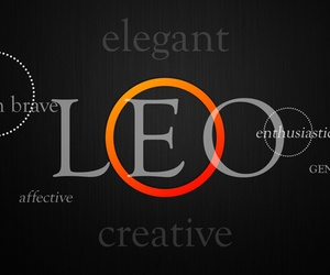 awesome, fact, and Leo image