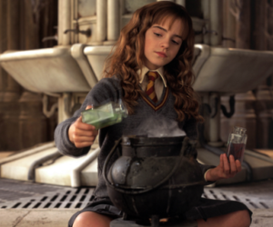 harry potter, polyjuice potion, and hermione granger image