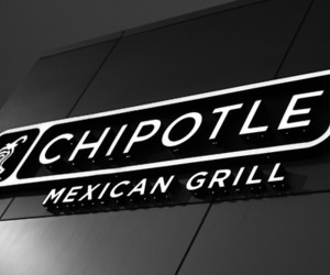 architecture, black and white, and chipotle image