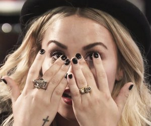 demi lovato and cry image