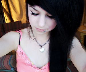 girl, cute, and piercing image