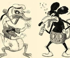 mickey, disney, and donald image