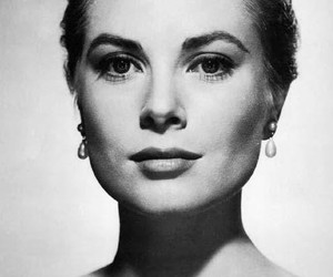 grace kelly, black and white, and princess image