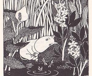 tove jansson, art, and moomin image
