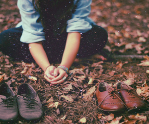 girl, shoes, and photography image