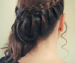 braids, cabelo, and hair image