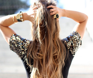 beautiful, blond, and d image