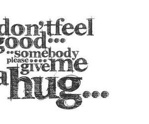 hug, text, and good image