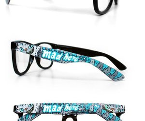 alice in wonderland, glasses, and WANT! image