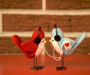 bird, music, and cute image