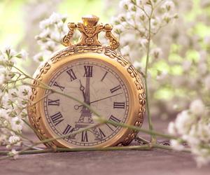 clock, time, and paris image