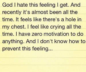 chest, crying, and depression image