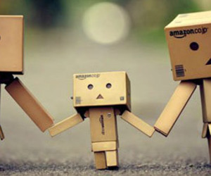 family, danbo, and box image