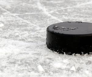 hockey, winter, and ice image